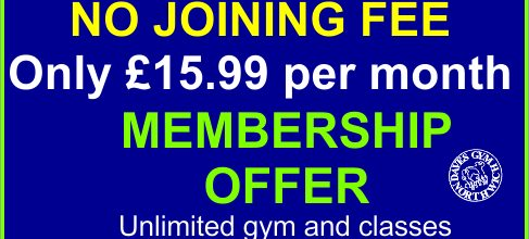 November Offer NO joining fee – Only £15.99 per month